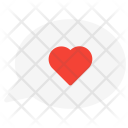 Love Heart Talk Icon