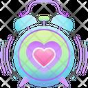 Love Alarm Alarm Love Icon