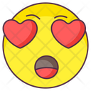 Love Amazed Emoji Icon