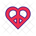 Love and peace Icon