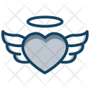Heart Wing Flying Heart Angel Heart Icon