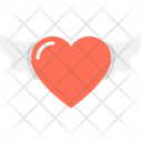 Love Angel Love Bird Love Wings Icon