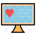 App Chat Heart Icon