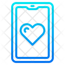 Love App Smartphone Mobilephone Icon