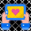Love App Smartphone Message Icon