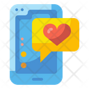 Love Application Dating Application Smartphone Icon
