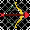Arrow Love Archery Love Target Icon