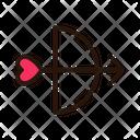 Love Arrow Bow Arrow Icon
