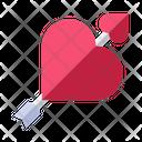 Love Arrow Love Valentine Icon