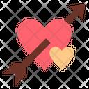 Arrow Shot Love Icon