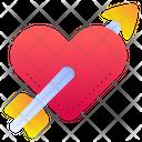 Love Arrow Icon