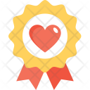 Love Badge Heart Icon