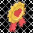 Love Badge Icon