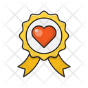 Love Badge Romance Icon