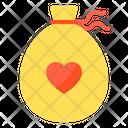 Love Bag Love Bag Bag Icon