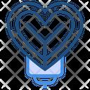 Love Balloon Icon