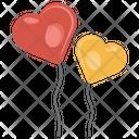 Love Balloons Icon