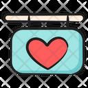 Love Banner Love Emblem Hanging Board Icon