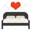 Love Bed Icon