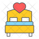 Love Bed Bed Bedroom Icon