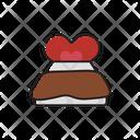 Love Bed Heart Happy Icon