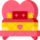 Love Bed Bed Love Icon