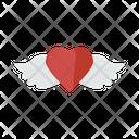 Love Birds Heart Wedding Icon
