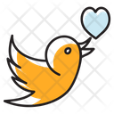 Love Bird Icon