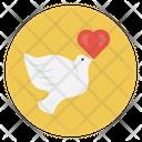Love Birds Valentine Icon
