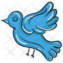 Love Bird Peace Bird Icon