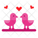 Love Bird Bird Love Icon
