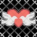 Love Birds Romance Icon