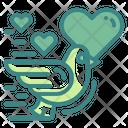 Love Bird Bird Lover Icon