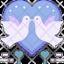 Love Bird Birds Bird Icon