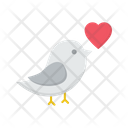 Bird Animal Peace Icon