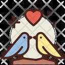 Birds Love Birds Love Icon