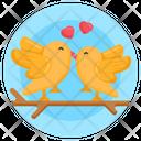 Birds Pair Birds Couple Love Birds Icon