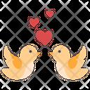 Love Bird Valentine Icon