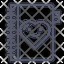 Love Book Book Booklet Icon