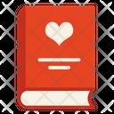 Love Book Book Heart Icon