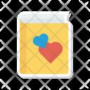 Love Book Romance Icon