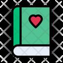 Love Book Education Icon