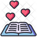 Love Book Book Learning Icon
