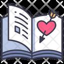 Romance Book Novel Icon