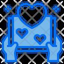 Heart Love Open Book Icon