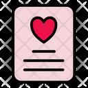 Love Book Love Story Love Icon
