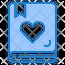 Love Book Book Notebook Icon