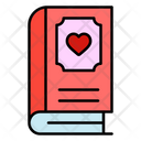 Love Book Book Love Icon