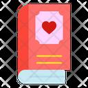 Book Love Heart Icon