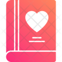 Love Book Romantic Book Love Icon